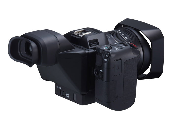 Canon XC10 4K Digital Camcorder Back view