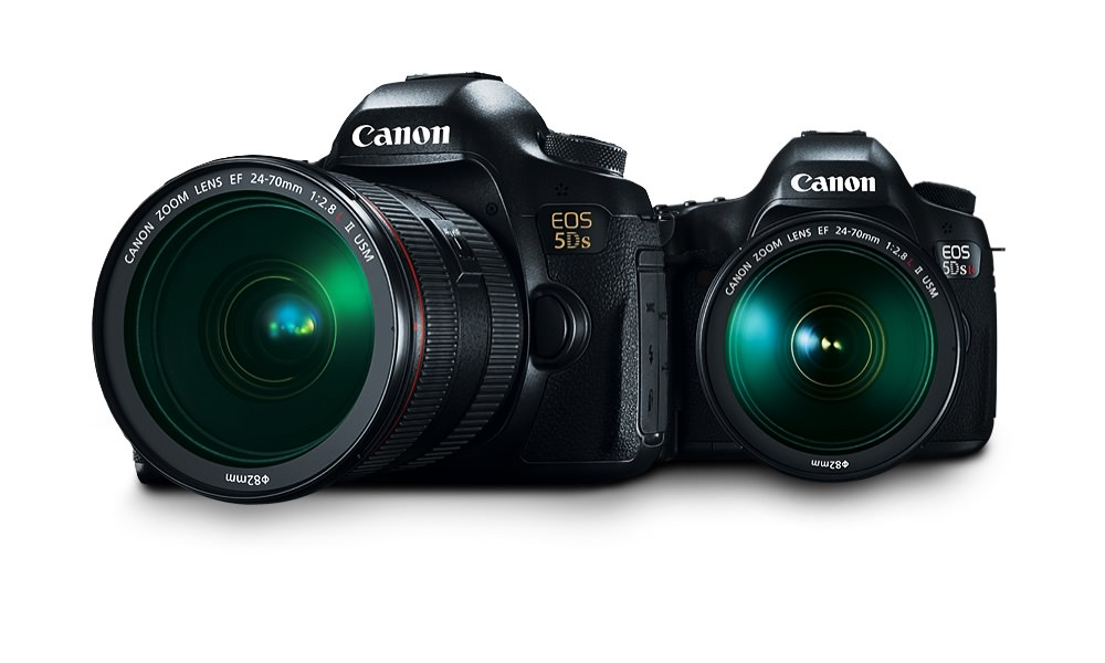 Canon EOS 5DS and R DLSR Digital Cameras