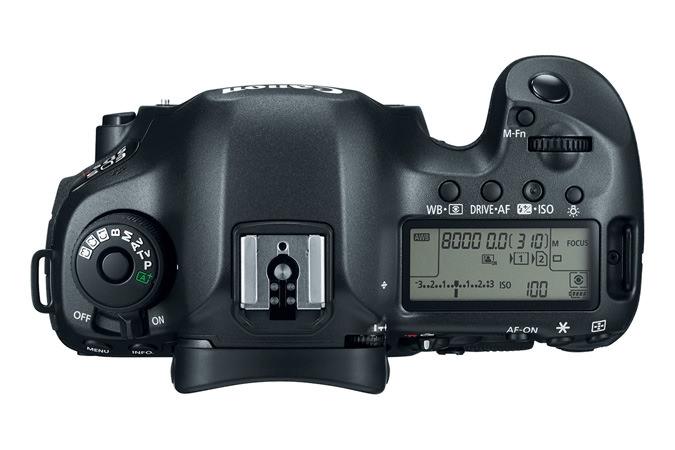 Canon EOS 5DS R Digital Camera Top