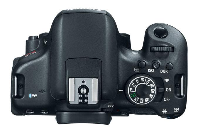 Canon EOS Rebel T6i Top