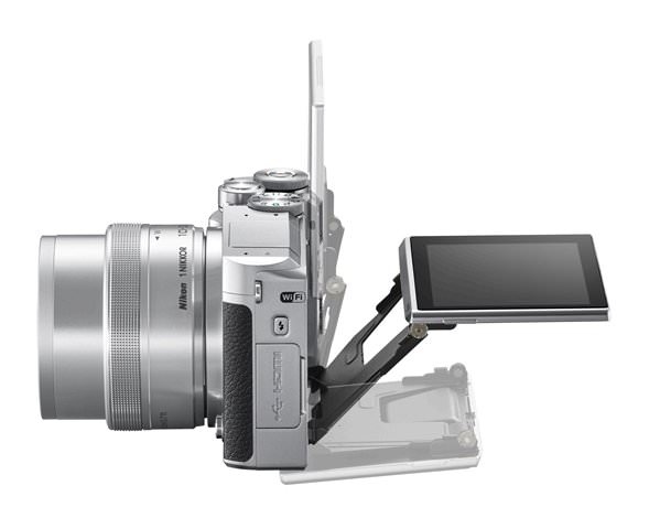 Nikon 1 J5 Digital Camera Side