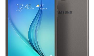 Samsung Galaxy Tab A Front Back
