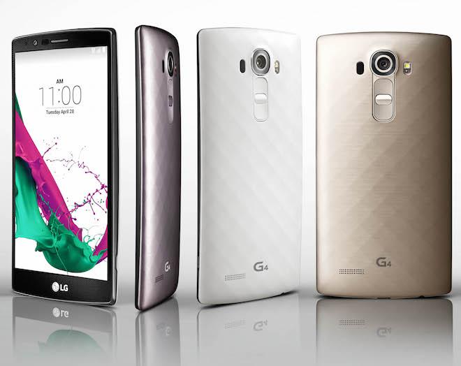 LG G4 Smartphones Ceramic