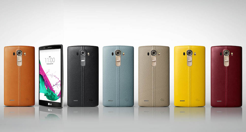 LG G4 Smartphones Genuine Leather