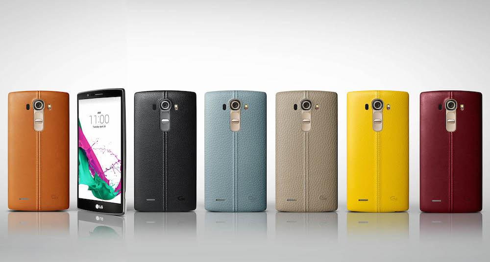 LG G4 Smartphones Genuine Leather