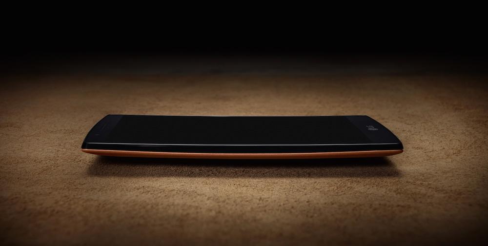 LG G4 Genuine Leather Smartphone Flat