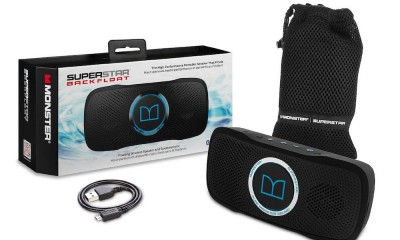 Monster Superstar Backfloat Bluetooth Speaker Package