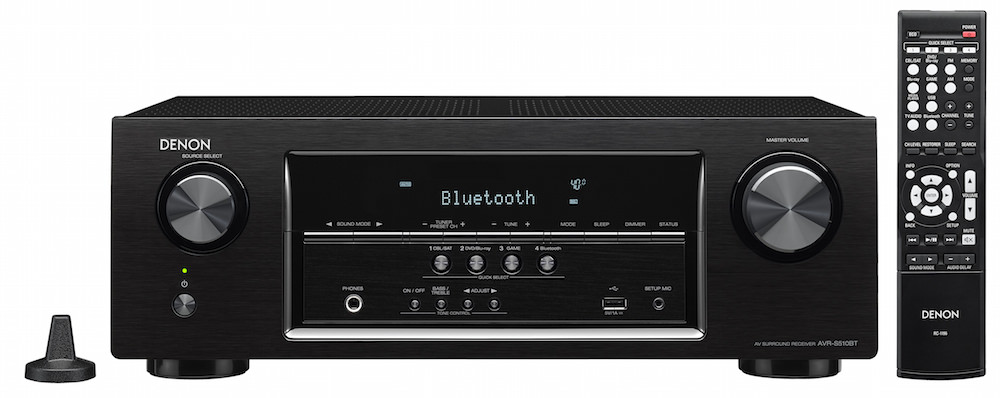 Denon AVR-S510BT front mic and remote