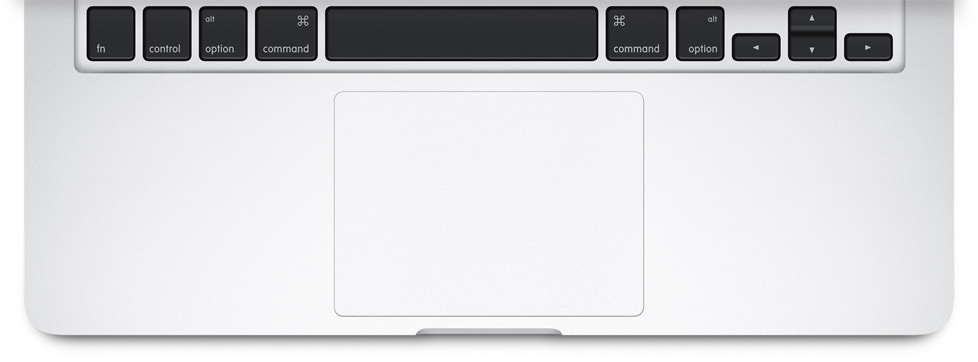 MacBook Pro Force Trackpad