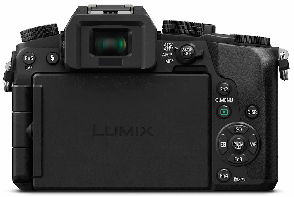 Panasonic DMC-G7 Back