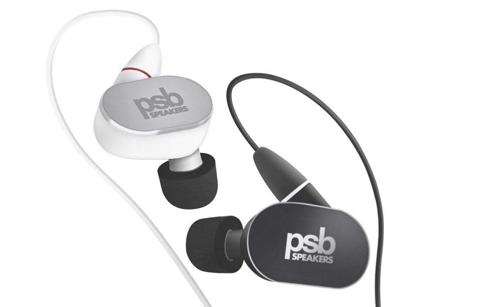 PSB M4U 4 In-Ear Monitor Black and White