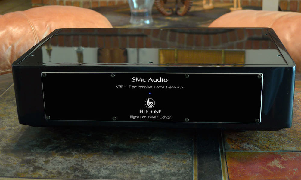 SMc Audio HI Fi One Silver Signature Edition line stage