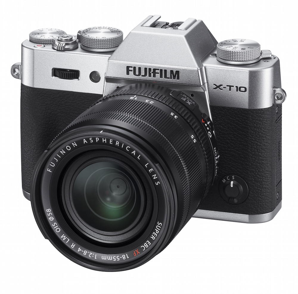 FujiFilm X-T10 Digital Camera Silver