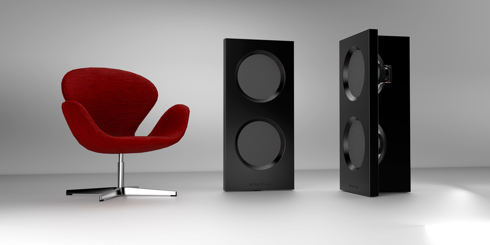 Spatial Hologram M3 Loudspeakers Black