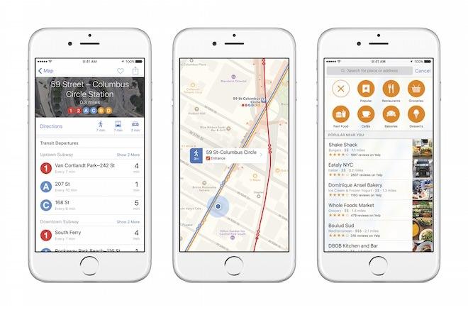 iOS9 Transit App