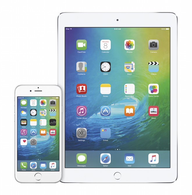 iPhone6 iPad2Air iOS9