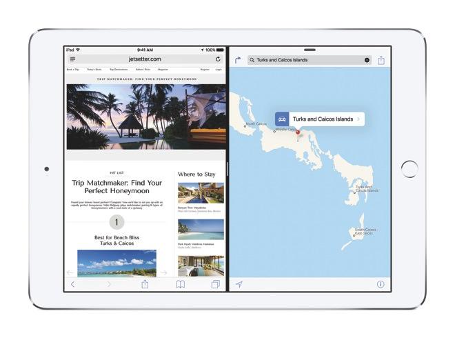 iPadAir2 iOS9 SplitView