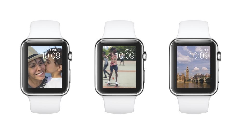 Apple Watch OS2 Clock Photo