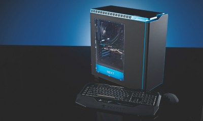 PC Format pc case cover, dps and kit shots
