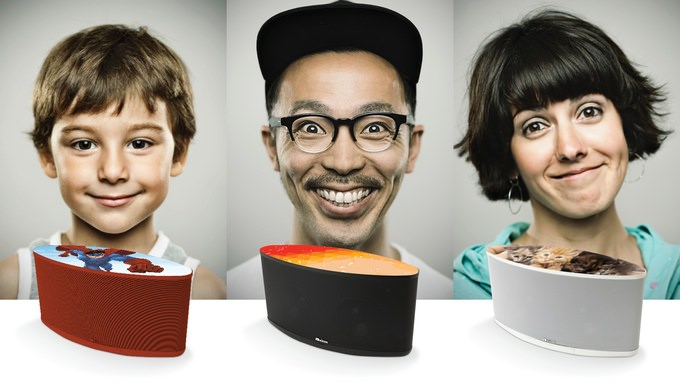Axiom Audio AxiomAir Wireless Speaker Finishes