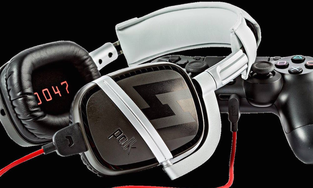 Polk Audio Striker Pro Hitman Contract Gaming Headset