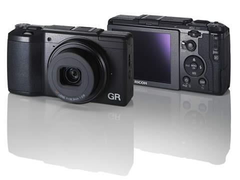 Ricoh GR II Digital Camera Front Back
