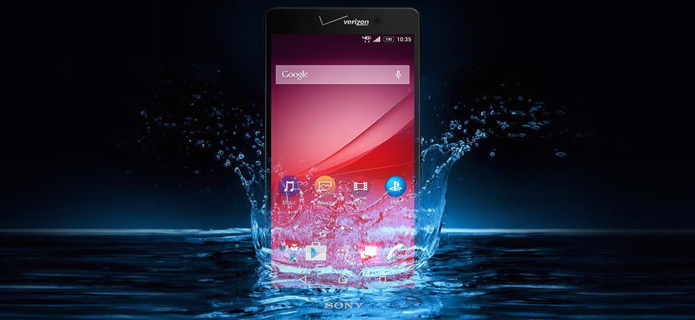Sony Xperia Z4v Waterproof Smartphone