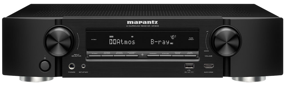 Marantz NR1606 Slim Design Network A/V Receiver