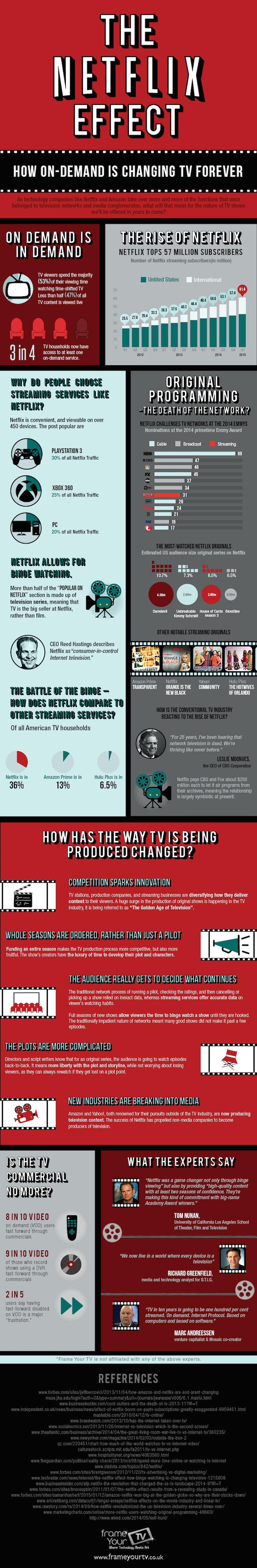 Netflix Effect Infographic