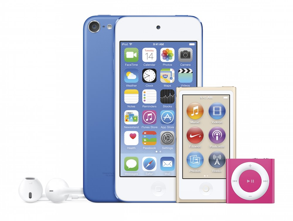 Apple iPod Family 2015