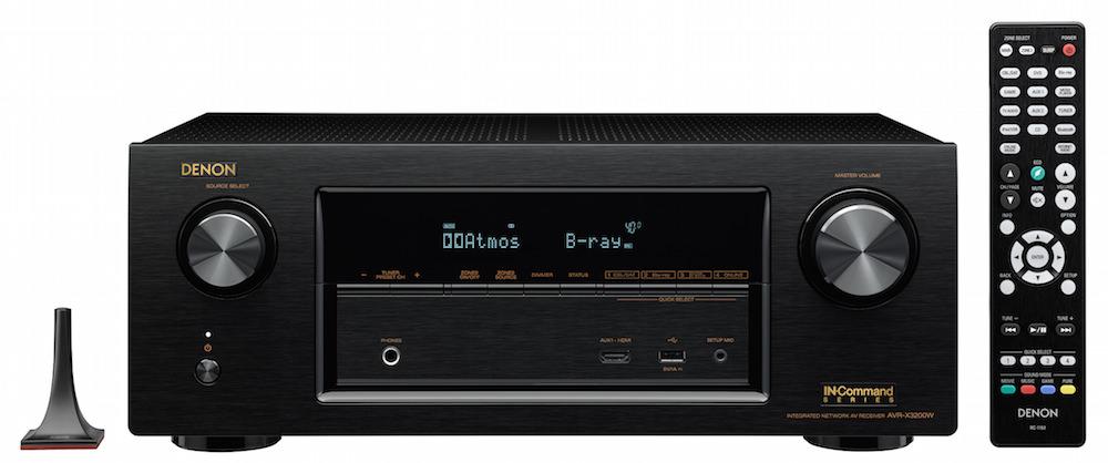 Denon AVR-X3200W Front