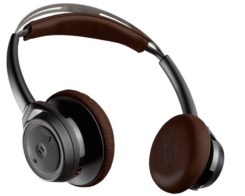 Plantronics BackBeat SENSE Wireless Headphones Brown