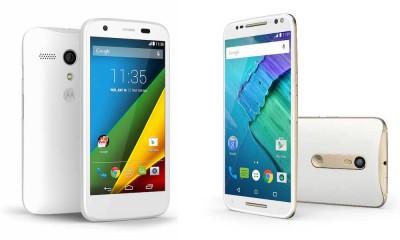 Motorola Moto G and Moto X Smartphones
