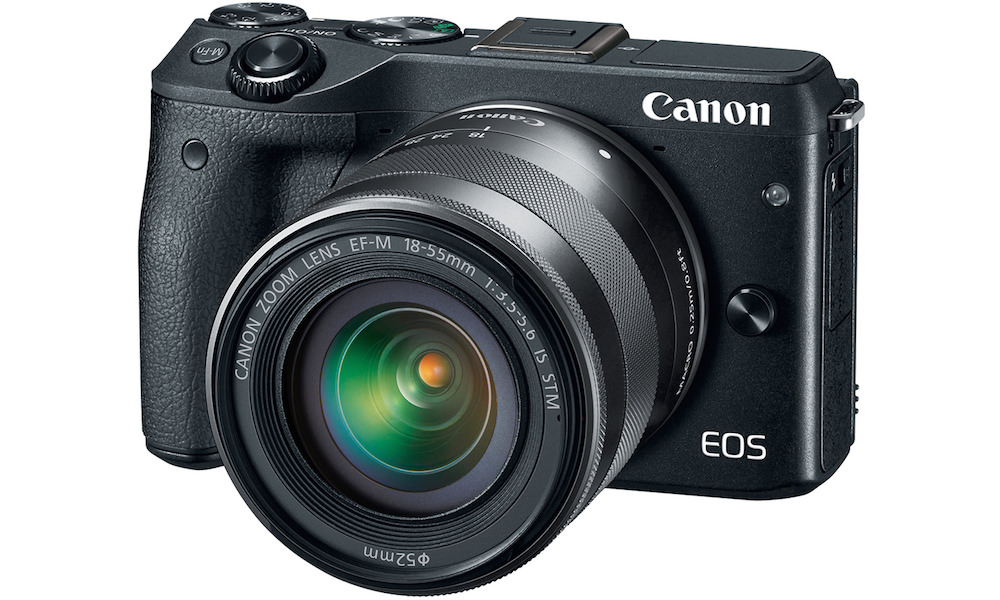 Canon EOS M3 Digital Camera with EF-M 18-55mm