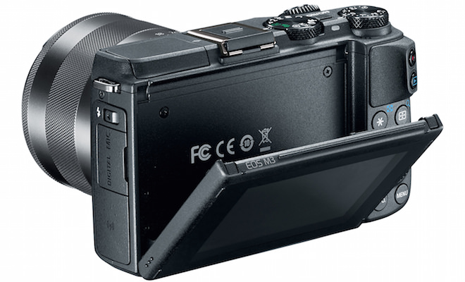 Canon EOS M3 Digital Camera Back Open