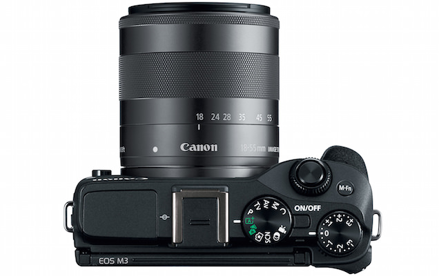 Canon EOS M3 Digital Camera Top