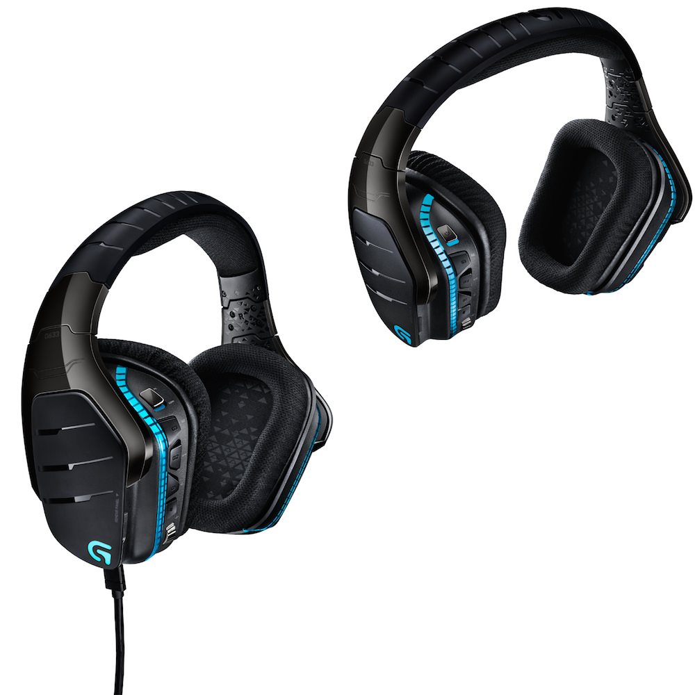 Logitech G633 and G933 Artemis Spectrum Headsets