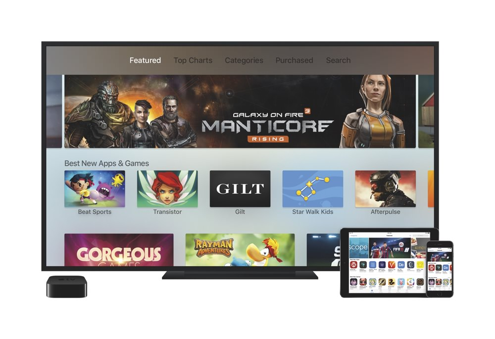 Apple TV Apps (4th generation)