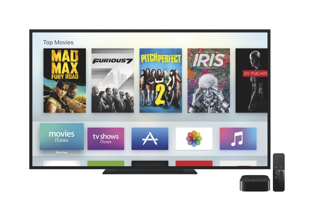 Apple TV Menu (4th generation)