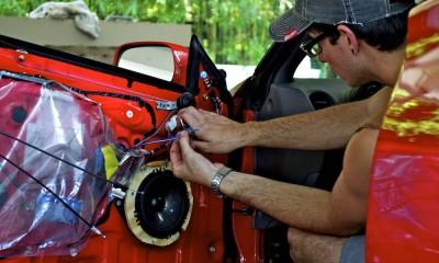 Install Car Speaker