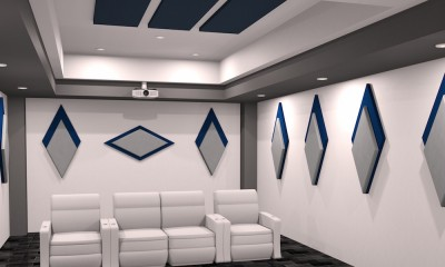 Auralex Acoustics HD Cinema Series Panels