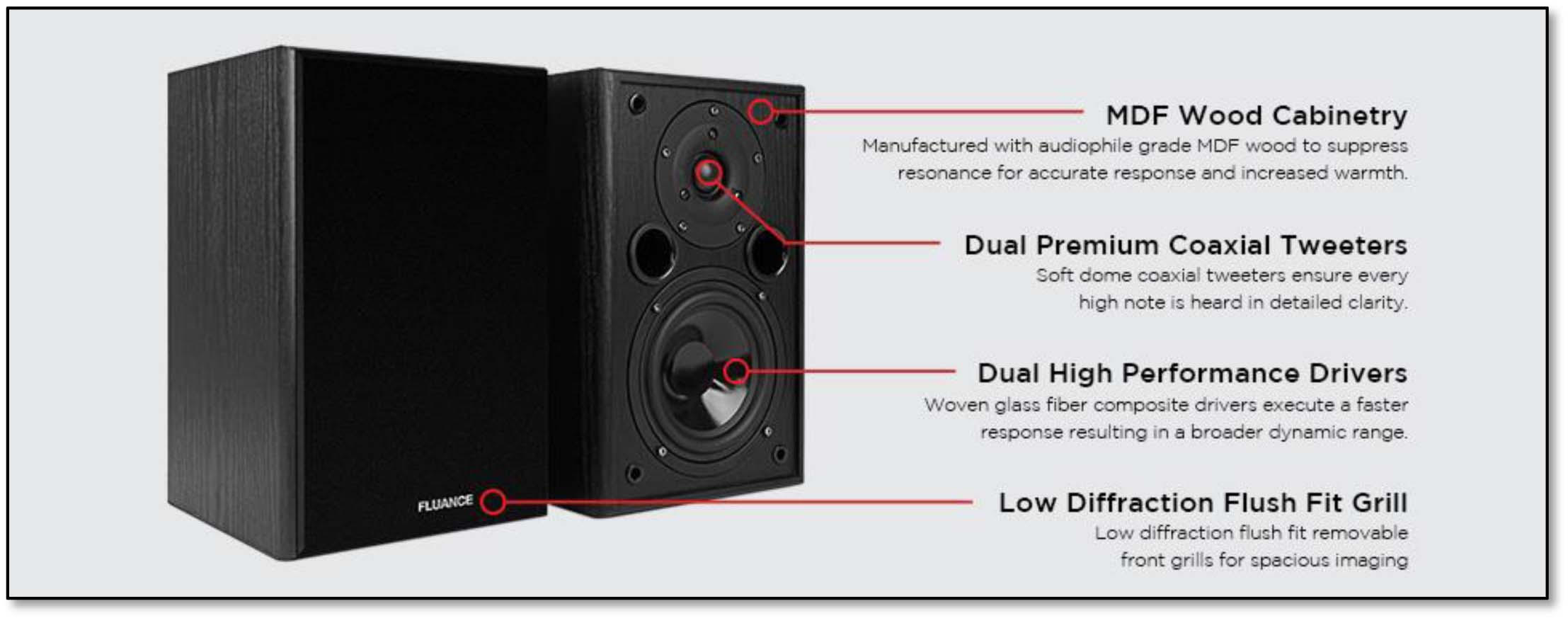 Fluance AV5HTB Specifications