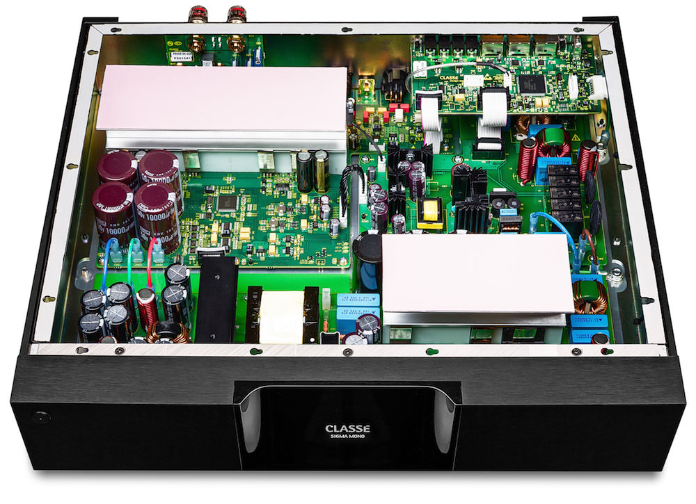 Classe Sigma MONO Amplifier - Inside