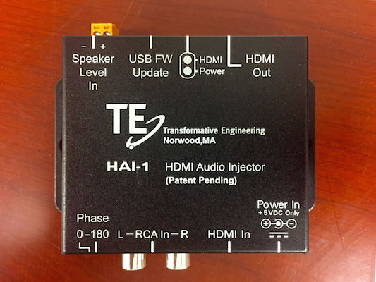 Transformative Engineering HAI-1