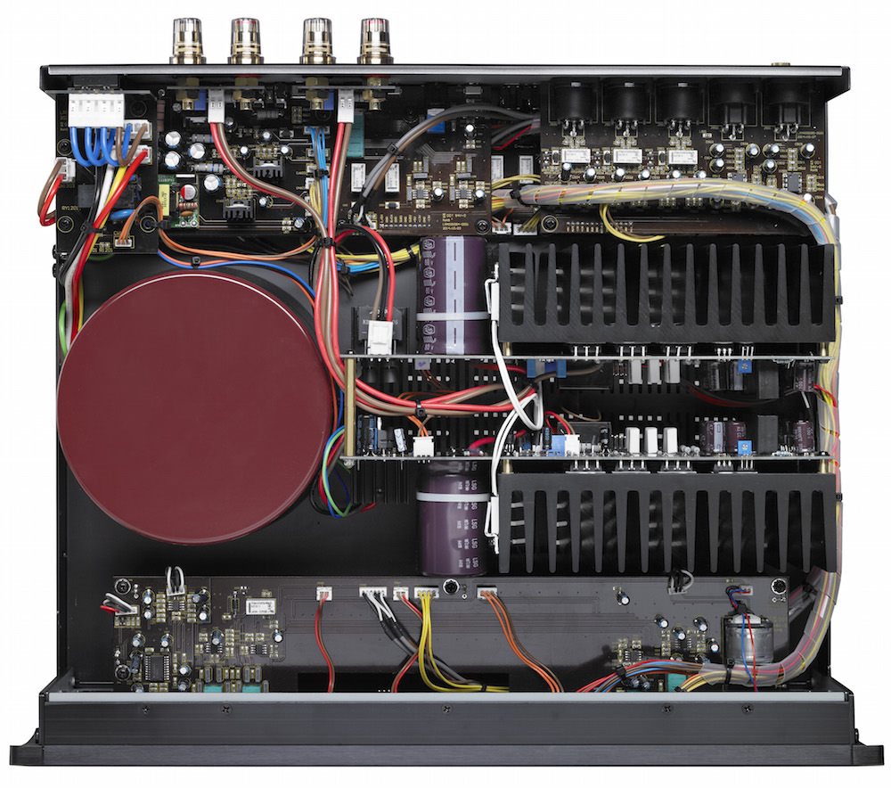 Parasound Halo Integrated Amplifier - Inside