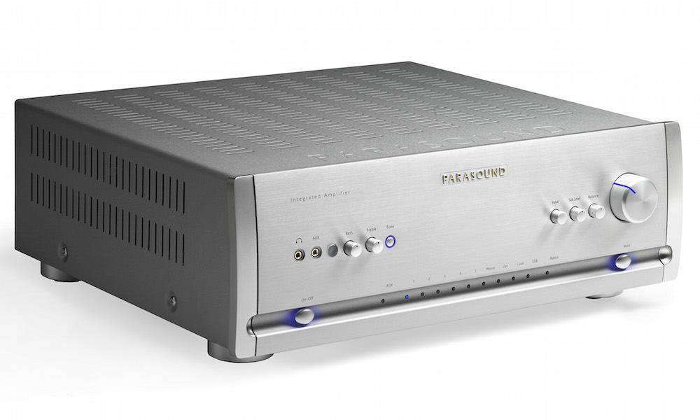Parasound Halo Integrated Amplifier - Silver