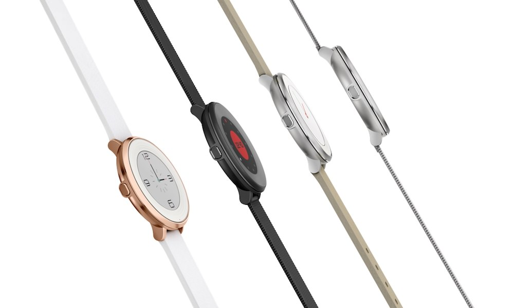 Pebble Time Round Thin Smart Watch