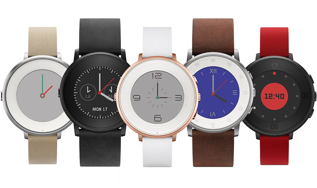 Pebble Time Round Smart Watch - Front