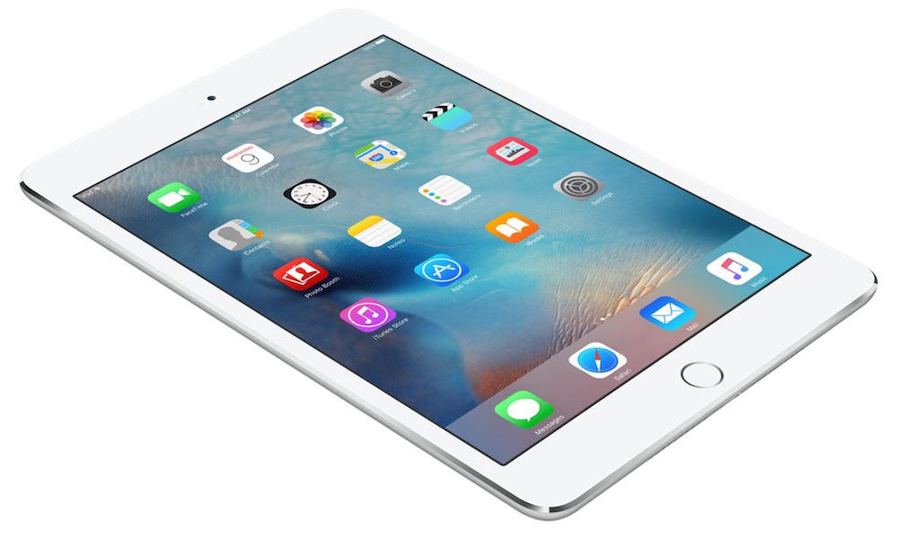 Apple iPad mini 4 silver