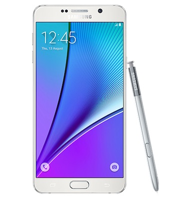 Samsung Galaxy Note 5 with S-PEN